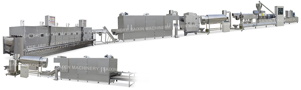 Corn Flakes, Breakfast Cereals Processing Line